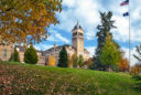 Old Main in the Fall