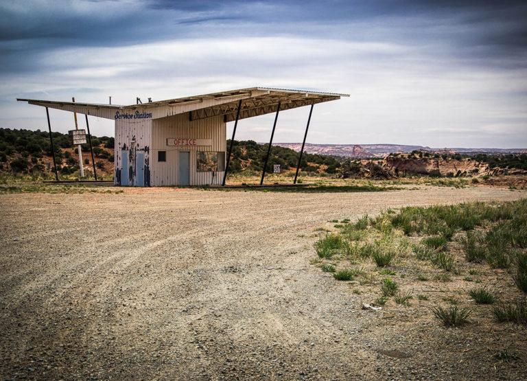 Old Service Station Highway 191