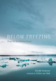 Book cover for Below Freezing: Elegy for a Melting Planet