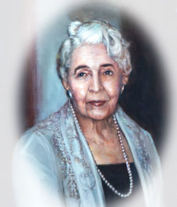 portrait of Marie Eccles Caine