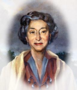 portrait of Nora Eccles Treadwell Harrison
