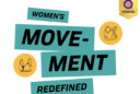 text reading: women's movement redefined