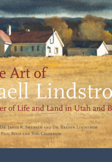 The Art of Gaell Lindstrom: Painter of Life and Land in Utah and Beyond book cover