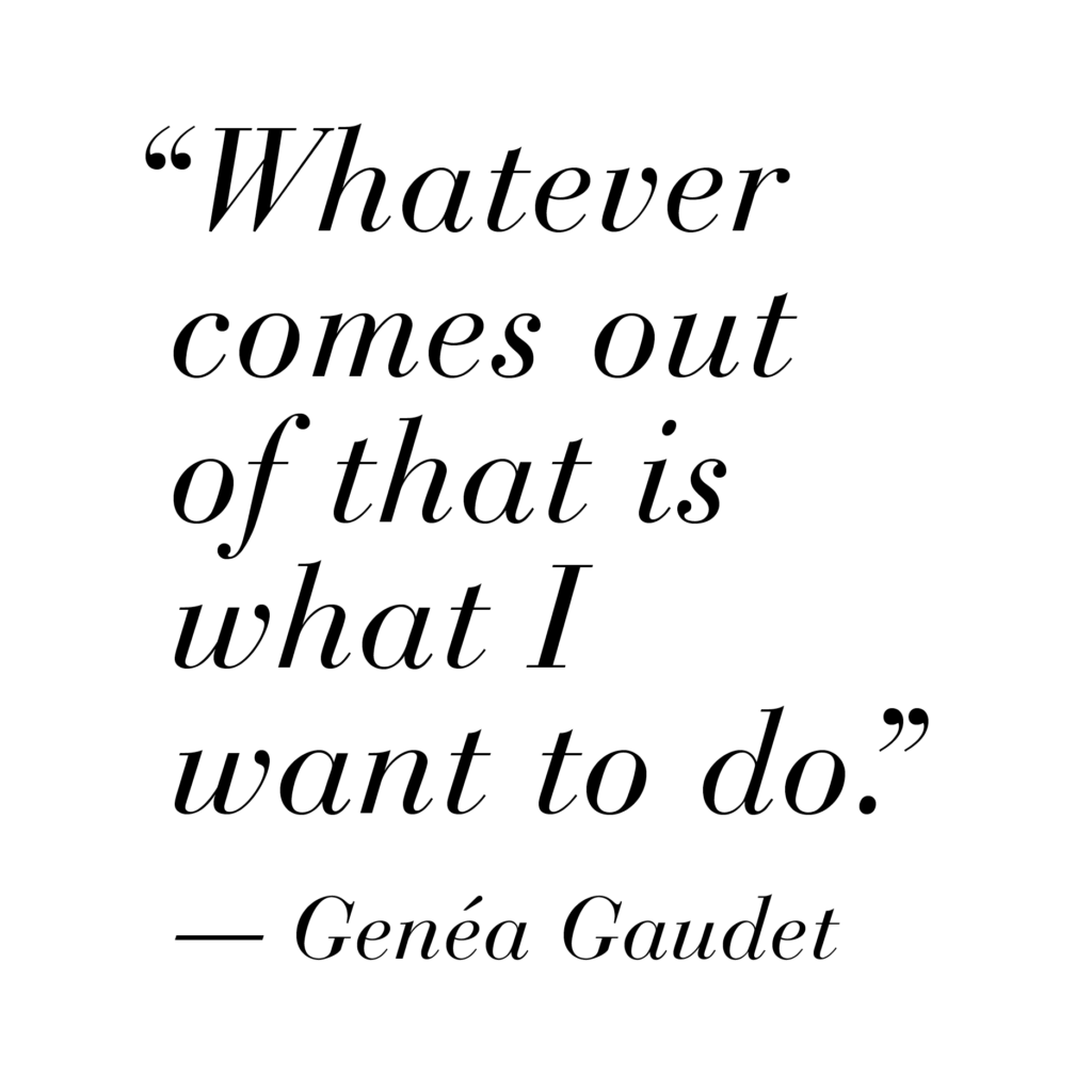 pull quote: Whatever comes out of that is what I want to do.